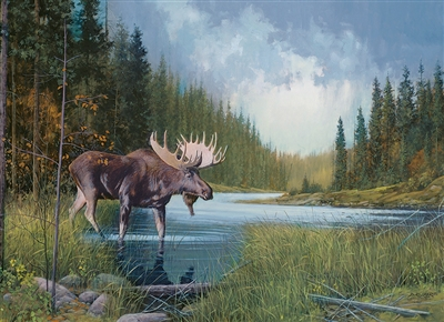 1000pc Moose Lake jigsaw puzzle | 80133 | Cobble Hill Puzzle Co