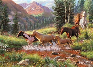 80136 | 1000pc Mountain Thunder jigsaw puzzle | Cobble Hill Puzzle Co