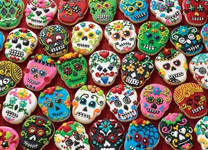 1000pc Sugar Skull Cookies jigsaw puzzle | 80144 | Cobble Hill Puzzle Co