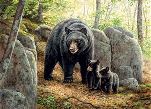 1000pc Mama Bear jigsaw puzzle | 80154 | Cobble Hill Puzzle Co
