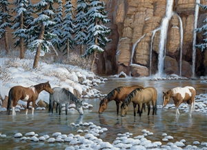 80162 | 1000pc Spirit of the Rockies jigsaw puzzle | Cobble Hill Puzzle Company
