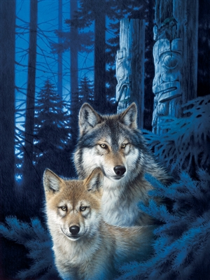 1000pc Wolf Canyon jigsaw puzzle | 80163 | Cobble Hill Puzzle Co