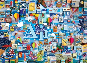 1000pc Air (Elements Collection by Shelley Davies) jigsaw puzzle by Cobble Hill Puzzle Co.