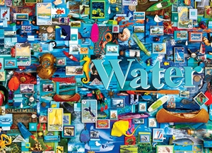 1000pc Water (Elements Collection by Shelley Davies) jigsaw puzzle by Cobble Hill Puzzle Co.