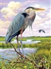 1000pc Heron jigsaw puzzle by Cobble Hill Puzzle Co.
