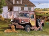 1000pc Summer Truck jigsaw puzzle by Cobble Hill Puzzle Co.