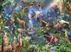 1000pc Into the Jungle jigsaw puzzle by Cobble Hill Puzzle Co.