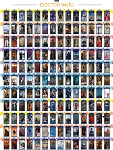 1000pc Doctor Who: Episode Guide jigsaw puzzle by Cobble Hill Puzzle Co.