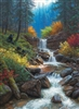 1000pc Mountain Cascade jigsaw puzzle by Cobble Hill Puzzle Co.