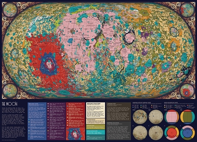 The Moon 1000pc jigsaw puzzle by Cobble Hill Puzzle Co.