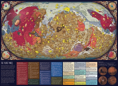 The Planet Mars 1000pc jigsaw puzzle by Cobble Hill Puzzle Co.