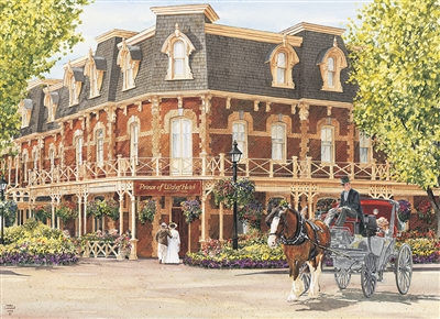 Prince of Wales Hotel 1000pc jigsaw puzzle by Cobble Hill Puzzle Co.
