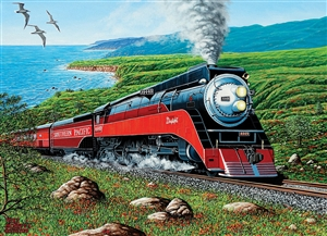 Southern Pacific 1000pc jigsaw puzzle by Cobble Hill Puzzle Co.