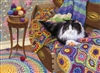 Comfy Cat 1000 Piece Puzzle by Cobble Hill Puzzle Co