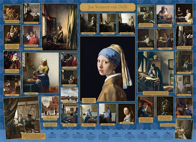 Vermeer 1000 Piece Puzzle by Cobble Hill Puzzle Co