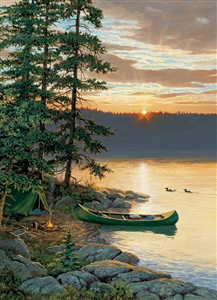 500pc Canoe Lake jigsaw puzzle | Cobble Hill Puzzle Company