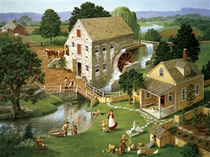 500pc Four Star Mill jigsaw puzzle | Cobble Hill Puzzle Company
