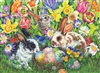 500pc Easter Bunnies jigsaw puzzle by Cobble Hill Puzzle Co.