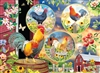 500pc Rooster Magic jigsaw puzzle by Cobble Hill Puzzle Co.