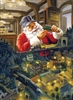 500pc Santa's Railway jigsaw puzzle by Cobble Hill Puzzle Co.