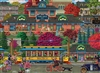Trolley Station 500pc jigsaw puzzle by Cobble Hill Puzzle Co.