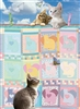 Quilted Kittens 500 Piece Puzzle by Cobble Hill Puzzle Co