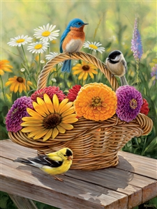 88012 | 275pc Summer Bouquet jigsaw puzzle | Cobble Hill Puzzle Company
