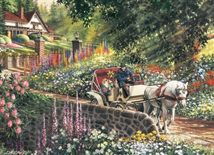 275pc Easy Handling Carriage Ride jigsaw puzzle by Cobble Hill Puzzle Co. (large pieces)