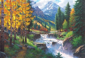 2000pc Rocky Mountain High jigsaw puzzle by Cobble Hill Puzzle Co.