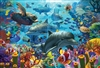 2000pc Coral Sea jigsaw puzzle by Cobble Hill Puzzle Co.