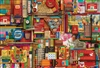 2000pc Vintage Art Supplies jigsaw puzzle by Cobble Hill Puzzle Co.