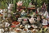 2000pc Mad Hatter's Tea Party jigsaw puzzle by Cobble Hill Puzzle Co.