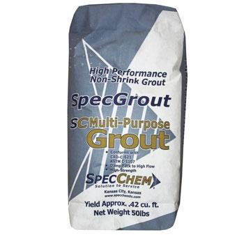 Specchem Multipurpose Non Shrink Grout 50 Bag