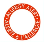 Customizable Allergy Alert Label