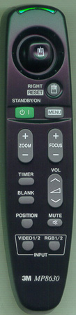 3M 78-8118-3311-6 Genuine  OEM original Remote