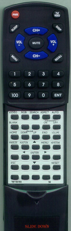 3M 78-8118-9185-8 Custom Built Redi Remote