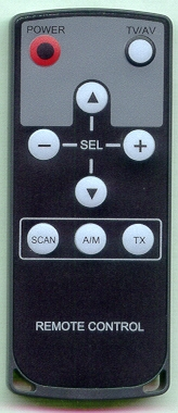 ACCELE TVTNR4R Refurbished Genuine OEM Original Remote