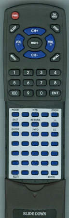 ACCESS HD RCD-TV Custom Built Redi Remote