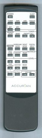 ACCURIAN 12435483 Genuine  OEM original Remote