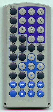 ACCURIAN 12438925 Genuine  OEM original Remote