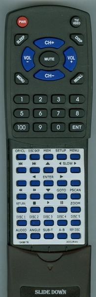 ACCURIAN 12436176 Custom Built Redi Remote