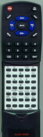 ACER 25.M01V7.002 Custom Built Redi Remote