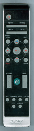 ACER XD1170D Genuine  OEM original Remote