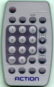 ACTION ACN5104V1 Genuine OEM original Remote