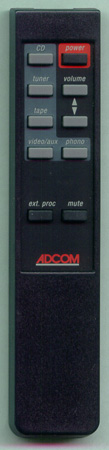 ADCOM GFP-710RC GFP710RC Genuine  OEM original Remote