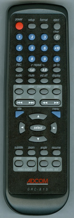 ADCOM GRC-815N GRC815 Genuine  OEM original Remote