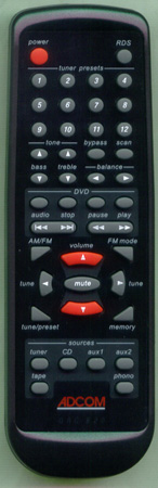ADCOM GRC-820 GRC820 Genuine  OEM original Remote