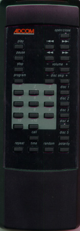ADCOM RC700 Genuine  OEM original Remote