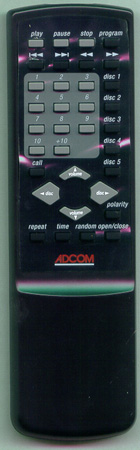 ADCOM RC700CD RC700CD Genuine  OEM original Remote