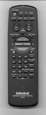 ADMIRAL 63329622 Genuine  OEM original Remote